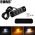 EURS car warning lamp 4LED side lights yellow+white 6W 12V led side marker lights for truck