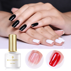 BORN PRETTY 10ml Tempered Strengthen Combination Nail Gel Polish Base Coat Matte No Wipe Top Coat