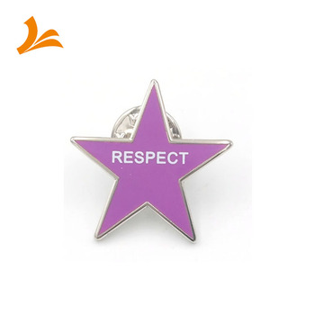 New style high quality custom soft ename star lapel pin