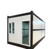 2019 newest Folding Pre Fab House Container Office Container 20 Ft Folding Container House For Storage
