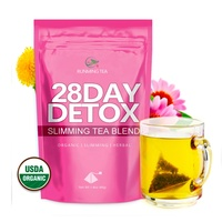 Dropshipping Wholesale Private Label OEM Natural Organic Lotus Herbal Detox Tea Weight Loss Slim Beauty Slimming Skinny /Fit Tea