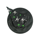 Halloween Black Magic Masquerade Party Witch Hat