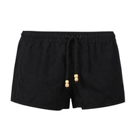 Hot selling crochet beachwear black board custom swim womens beach shorts