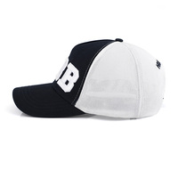 Customized 6 panel baseball caps and hats men high quality cotton embroidered logo dad hat