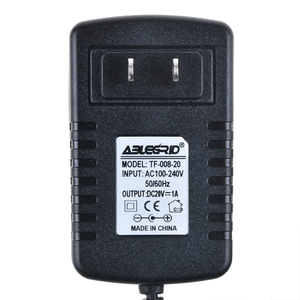 AbleGrid 20V 1A 5.5mm/2.5mm Wireless Mobile Speaker DC Power Supply Laptop Ac Power Adapter