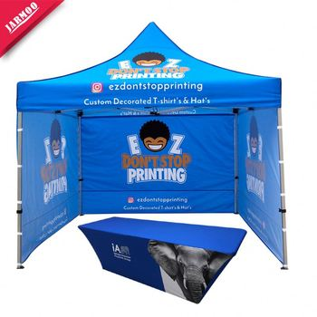 Polyester Printing Waterproof Folding Tent China For Promotion Advertising