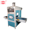 Custom left and right sliding high frequency PVC/PU/TPU plastic leather welding cutting machine