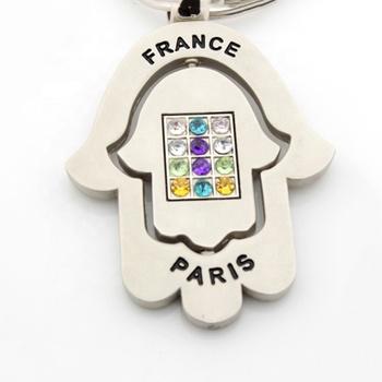 wholesale any country souvenir paris souvenirs metal keychain