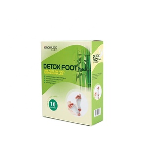 2018 Hot Sale Health Broadcast Foot Detox Patch To Remove Toxins