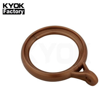 KYOK Plastic Curtain Eyelet Ring Holder Design European Style Shower Curtain Hooks Rings Small Customize Curtain Loop Rings M913