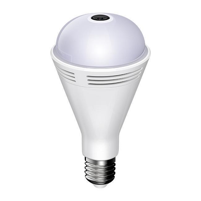 2019 new design <strong>mini</strong> home security 360 <strong>wifi</strong> wireless 1080P speaker <strong>camera</strong> light bulb speaker music bulb <strong>camera</strong>