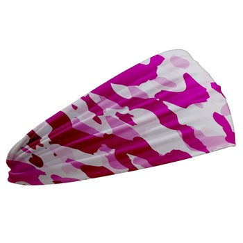 best  selling  Custom scarf  pink camo Accessories Sports Headband