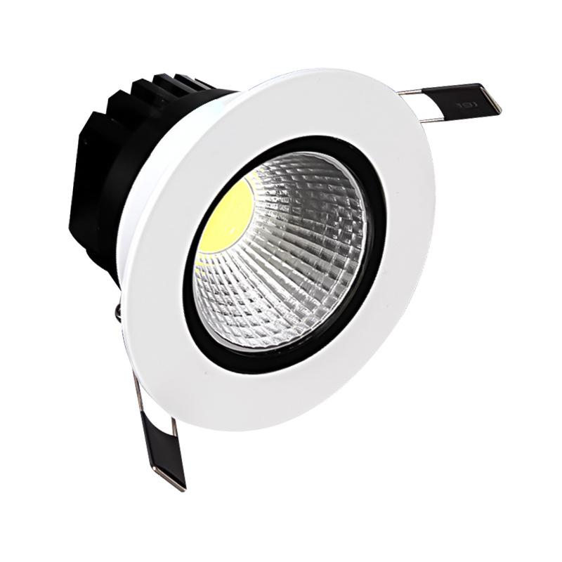 Iyi Isı Dağılımı Tasarım Yüksek Verimli Profesyonel LED Aşağı Işık Tavan Spot Işığı