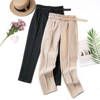 2018 winter Women warm trousers new fashion casual pants