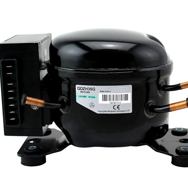 RETEKOOL Small 12V-24V Refrigerator DC Compressor