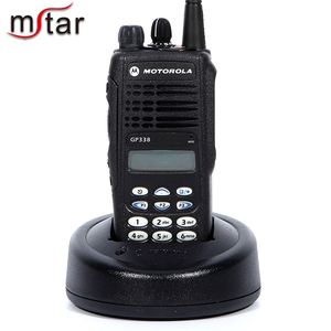 Motorola portable analog radio Handheld GP338 Plus Walkie Talkie Interphone  two way radio