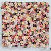 Factory Price Artificial Rose Hydrangea Flower For Wall Decoration Silk Flower Wall for Wedding Suppliers
