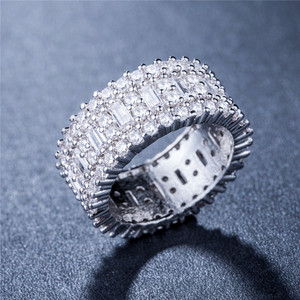 Cheap promotional gift Jewelry Manufacturers Wholesale Gold Plated Alloy Custom Women Ring