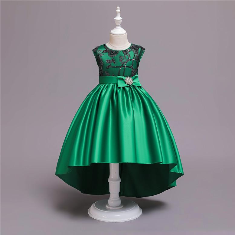 Venta Al Por Mayor Vestidos De Ninas Para Boda Color Verde