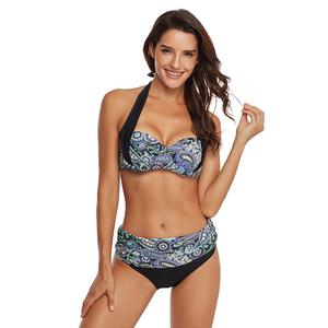 512eb29df4627 Lover-Beauty Wholesale Sexy Mix Color Two Piece Bra Cup Women Swimwear  Bikini