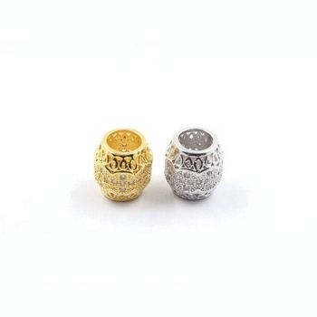 Pretty Cuzic Zirconia Pave Jewelry Findings Making Accessory