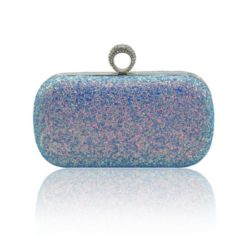 N500 Fashional sequin design luxury ladies clutch party handbag purse evening bags