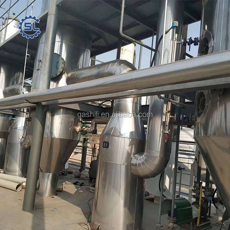 biodiesel transesterification plant glycerol purification equipment biodiesel production line