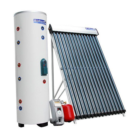Most economical glass vacuum tube Solar Collector System