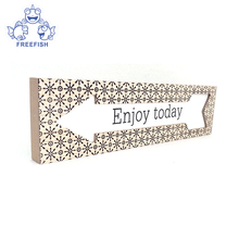 Enjoy Today Bunches Wooden Box Sign Inspirational Signs Inspirational Gifts Inspirational Quotes Box with Arrowhead
