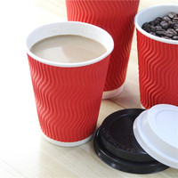 New arrival sheet printing craft double wall printed paper cup