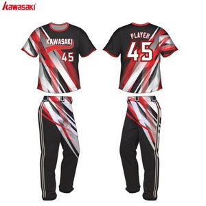 High Quality Custom Latest Baseball Digital Printing League Dry Fit Womens Softball Wear
