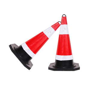 Small outdoor pvc cone road