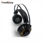 Aviation headset pilot Wired headphone speaker with Adjustable Headband and Microphone