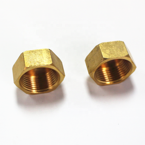 Widely Used Copper Pipe Threaded End Cap, Metal End Cap