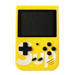 handheld video game retro sup game box 400 in 1  with 3'' color screen