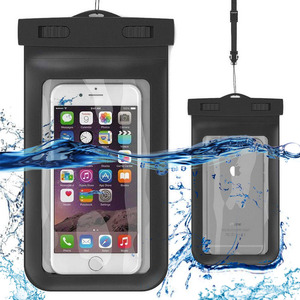 Oem Wholesale Pvc Floating Ziplock Waterproof Cell Mobile Phone Bag For Iphone Samsung