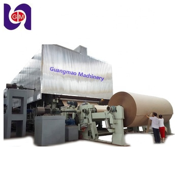 China Suppliers Waste Recycling 4200 Kraft Paper Machine for Paper Mill