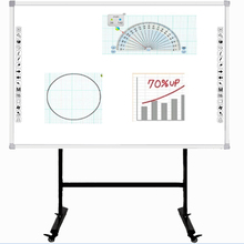 85 inch 10 <span class=keywords><strong>vingers</strong></span> infrarood touch interactieve smart board voor onderwijs/whiteboards/draagbare vinger touch