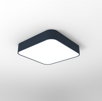 New modern 48w 100lm/w led square ceiling light surface mounted Triac dimmable