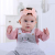 Amazon hot sale baby hair belt baby headband with high quality
