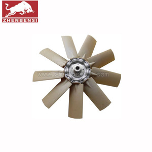 screw air compressor spare parts air cooling fan blade 1613948801 spare parts