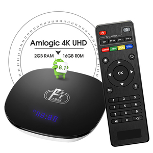 The first Android 8.1 Amlogic S905W TV box A95X F1 2gb 16gb 8K BOX TV with cheap price
