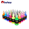 Premium Quality 10 24 30 Colors 3D Permanent Fabric Paint For Textile