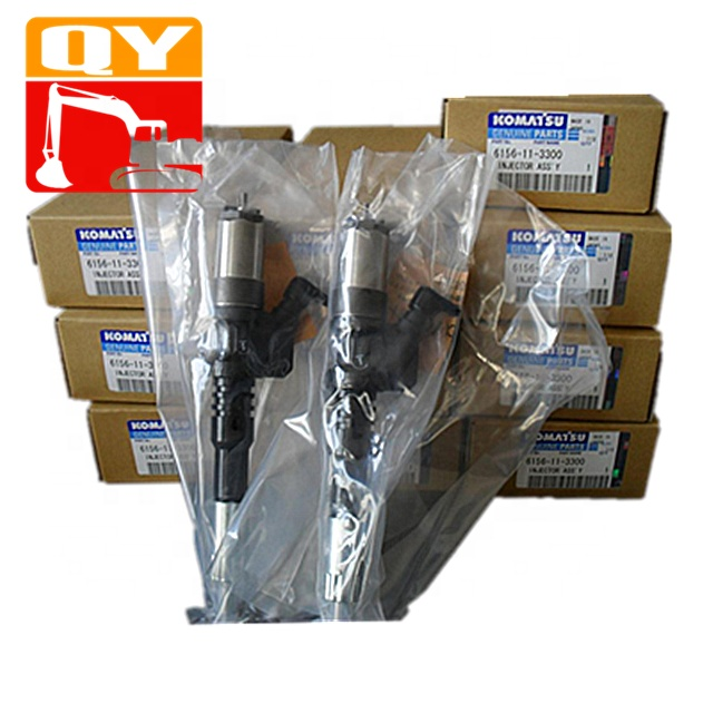 Genuine New hot sale Excavator spare <strong>parts</strong> Pc400-7 Pc450-7 injector fuel pump 6156-11-3300 in stock