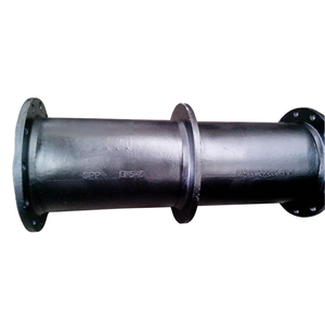 ductile iron puddle flange pipe 672 FROM FLANGE END DI