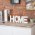 Rustic Wooden HOME Standing Cutout Word Decorative Letters Sign