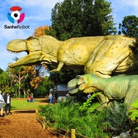 Theme Park Realistic Animatronic Dinosaur for sale