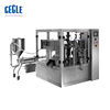 automatic liquid/paste stand up pouch filling and sealing machine ,zipper bag packaging machine for juice/chili sauce/ketchup