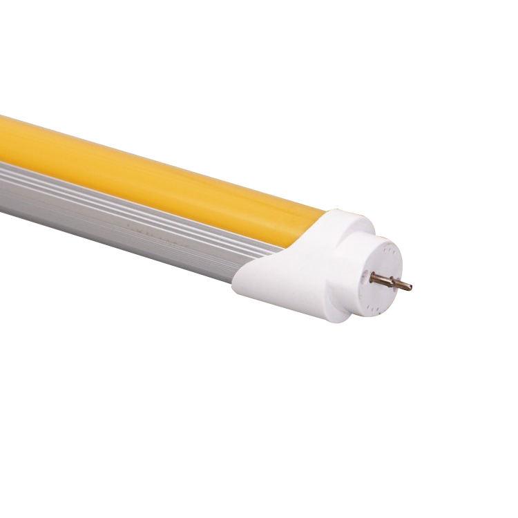 T8 No Uv tubo Led luces amarillas para semiconductores T8 tubo integrado/60/90/120/150 Cm UV libre