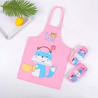 Multi-functional Printing Aprons Anti-stain Apron for Kids Children Baby